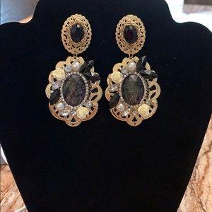 Gorgeous fancy  earrings!